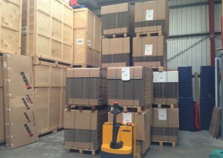 BHR - Storage at the warehouse