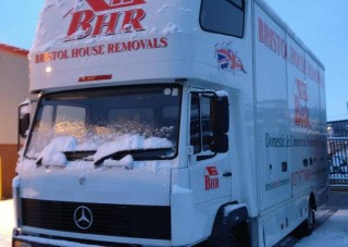 Removals in the snow