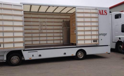 Lorry #1 Inside